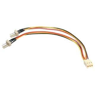 StarTech.com 6in TX3 Fan Power Splitter Cable