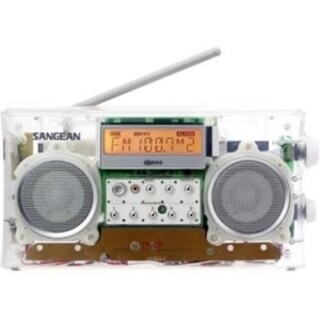Sangean Portable Clock Radio - Stereo