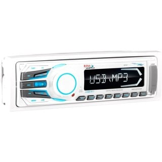 Boss Audio MR1306UA Marine Single-DIN MECH-LESS Receiver, Detachable