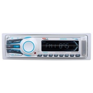 Boss Audio MR1308UAB Marine Single-DIN MECH-LESS Receiver, Bluetooth,