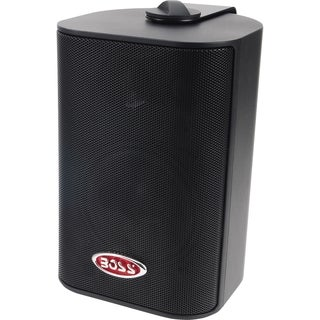 "BOSS AUDIO MR4.3B Marine Enclosed System 4"" 3-way 200-watt Enclosed S"