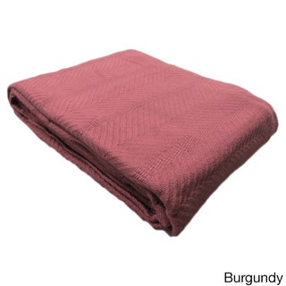 Elegant Egyptian Cotton Blanket (More options available)