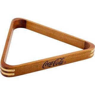 Engraved Wooden Coca-Cola® Billard Triangle