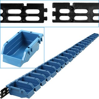 Stalwart 20-bin Wall Mounted Parts Rack
