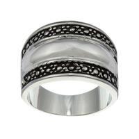 City by City City Style Silvertone Ring