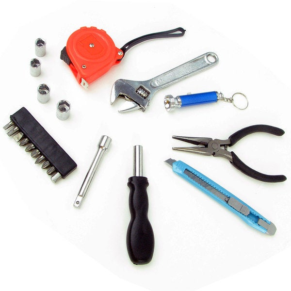 Deluxe 22-piece Household Utility Tool Set