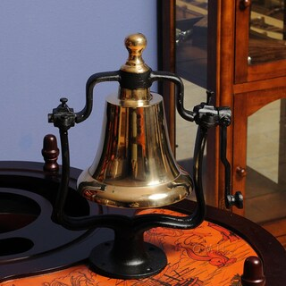 Old Modern Handicrafts Brass Victory Bell