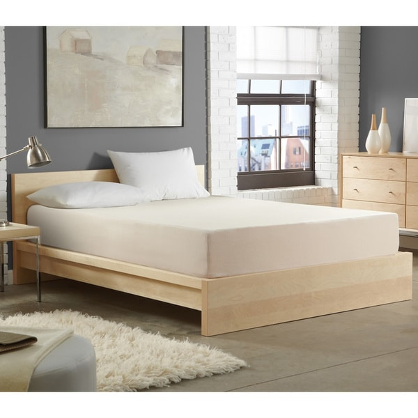 WHITE by Sarah Peyton 10-inch Convection Cooled Firm Support Twin-size Memory Foam Mattress