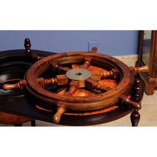 Old Modern Handicrafts 36-Inch Display Ship Wheel