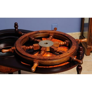 Old Modern Handicrafts 24-Inch Ship Wheel