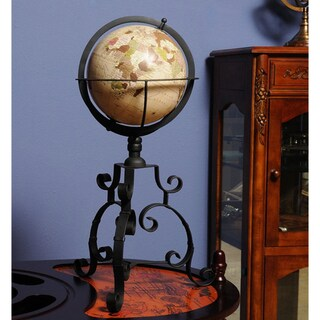 Old Modern Handicrafts Classic Globe On Tri-legged Base