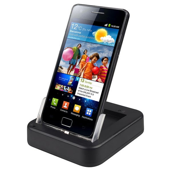 BasAcc Cradle with USB/ AC Battery Charger for Samsung© Galaxy S2