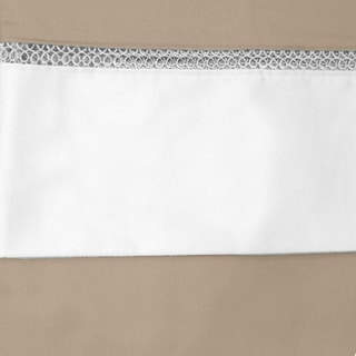 Grand Luxe Egyptian Cotton Duetta 300 Thread Count Sheet Separates