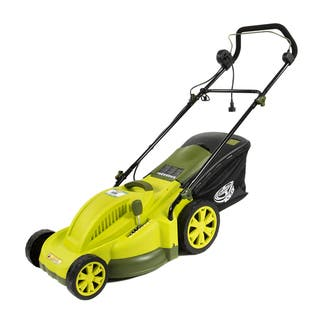 Sun Joe 13-AMP Corded 17-inch Electric Lawn Mower|https://ak1.ostkcdn.com/images/products/7729221/7729221/13-AMP-Corded-17-inch-Electric-Lawn-Mower-P15130648.jpg?impolicy=medium