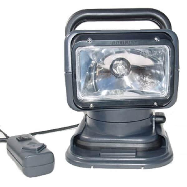Go Light Grey 12-Volt Portable Go Light With Remote