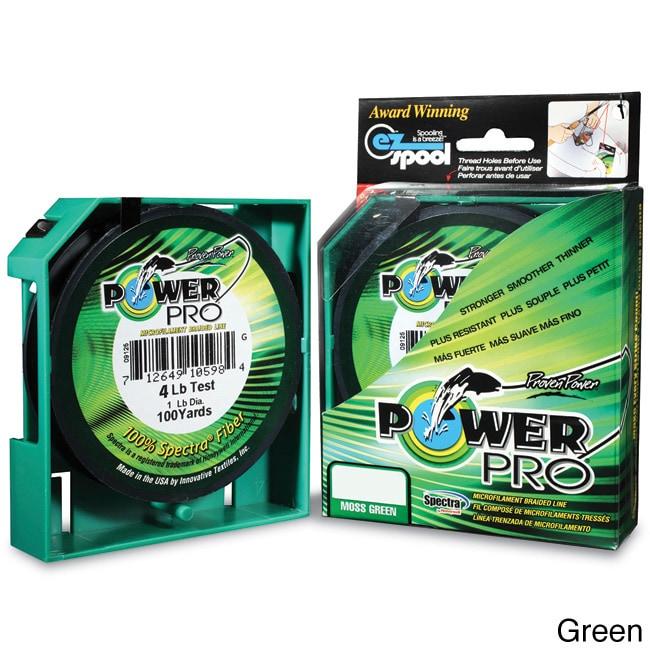 80 lb 500 yards Power Pro Spectra Braid Moss Green NEW