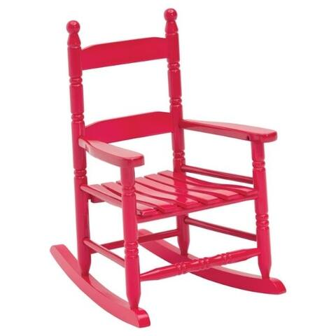 Jack Post Red Wood Knollwood Kid S Rocking Chair