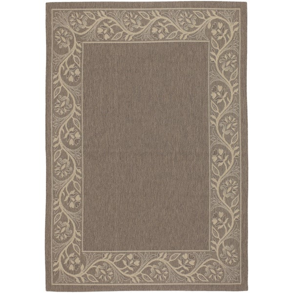 Five Seasons Tuscana/ Brown-Cream Area Rug (8'6 x 13)