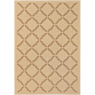 Five Seasons Sorrento/ Cream-Gold Area Rug (5'10 x 9'2)