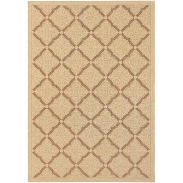 Couristan Five Seasons Sorrento/ Cream-gold Area Rug (9'2 x 12')