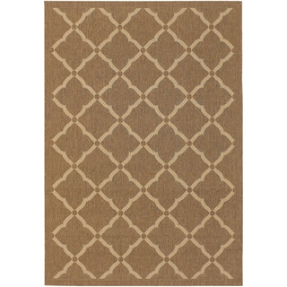 Five Seasons Sorrento Gold/ Cream Rug (3'7 x 5'5)
