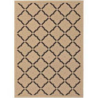 Five Seasons Sorrento Cream/ Black Rug (7'6 x 10'9)