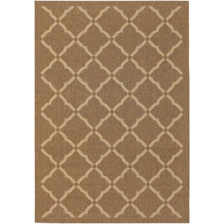 Five Seasons Sorrento Gold/ Cream Rug (7'6 x 10'9)