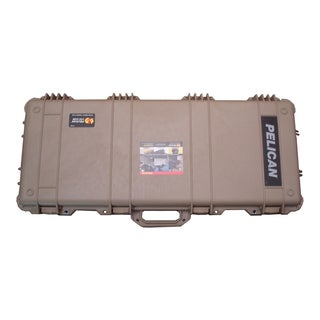Pelican 1700 Tan Weapons Case