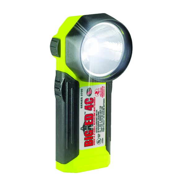 Pelican 3700 Yellow Big LED Flashlight