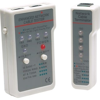 Manhattan Multifunction RJ45/RJ11 Cable Tester
