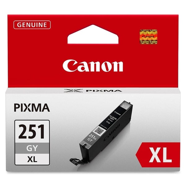 Canon CLI-251GY XL Original Ink Cartridge - Gray