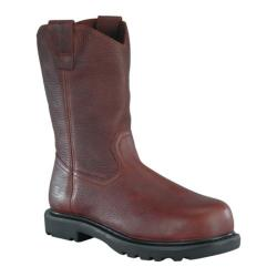 Men's Iron Age Hauler 11in Wellington Boot Brown Leather