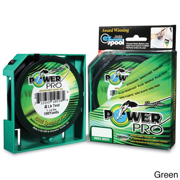 Power Pro Braided Microfilament 150-yard Fishing Line