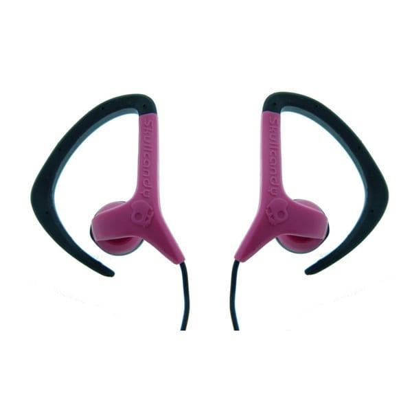 Shop Skullcandy Chops Pink and Black Earbuds - Free