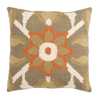 Nanaimo 18-inch or 22-inch Decorative Poly or Down Filled Throw Pillow