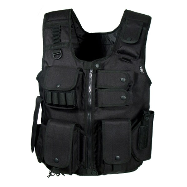Leapers Inc. UTG Law Enforcement Tactical Vest Black