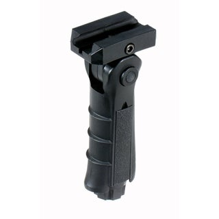Leapers UTG Black Ergonomic Ambidextrous 5-position Foldable Foregrip