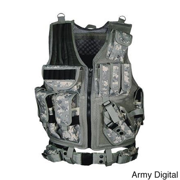 Leapers Inc. UTG 547 Tactical Vest Black