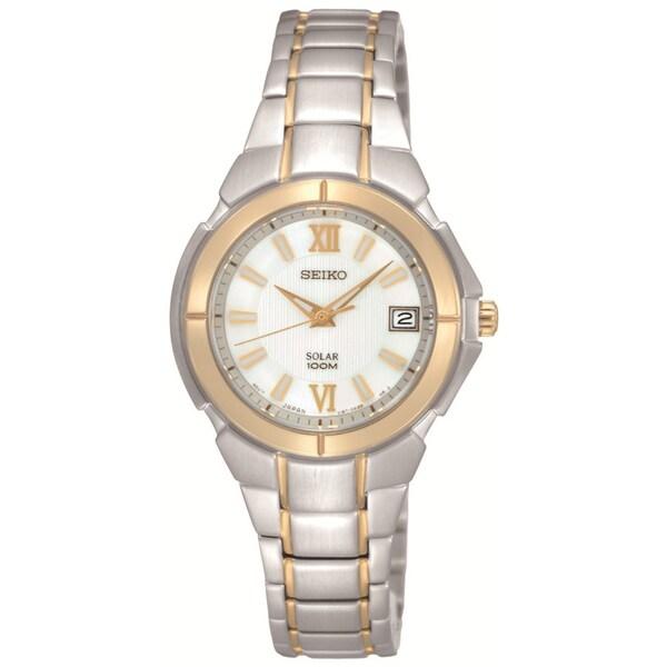 Seiko Women's Solar Stainless Steel Watch