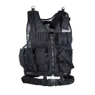 Leapers Inc. UTG Sportsman Scenario Vest Black
