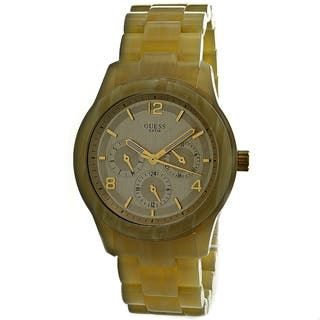 Guess Women's Spectrum Plastic Watch|https://ak1.ostkcdn.com/images/products/7730984/7730984/Guess-Womens-Spectrum-Plastic-Watch-P15132068.jpg?impolicy=medium