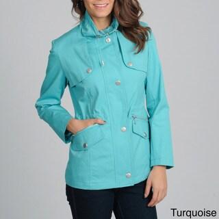 Women's 'Valencia' Stand Collar Zip-up Jacket