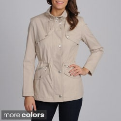 Women's 'Valencia' Stand Collar Zip-up Jacket