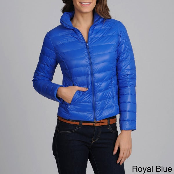 Women's 'Leonardo Lady' Lightweight Puffer Jacket - Free Shipping ...