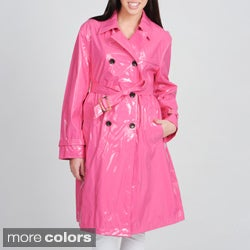 Women's 'Monaco' Water Resistant Short Trench Coat