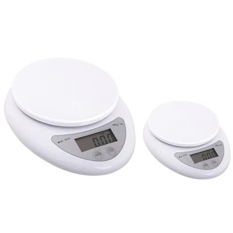 INSTEN 11-pound White Digital Kitchen Scale (Pack of 2)