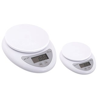 INSTEN 11-pound White Digital Kitchen Scale (Pack of 2)