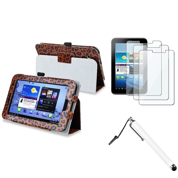 INSTEN Tablet Case Cover/ Protector/ Stylus for Samsung Galaxy Tab 2 P3100/ 3110