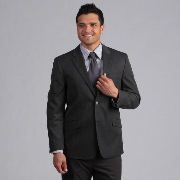 Oxford Men's Republic Charcoal Suit Separate Coat