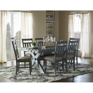 Link to 7-Piece Chester Rustic Farmhouse Dining Set Similar Items in Dining Room & Bar Furniture